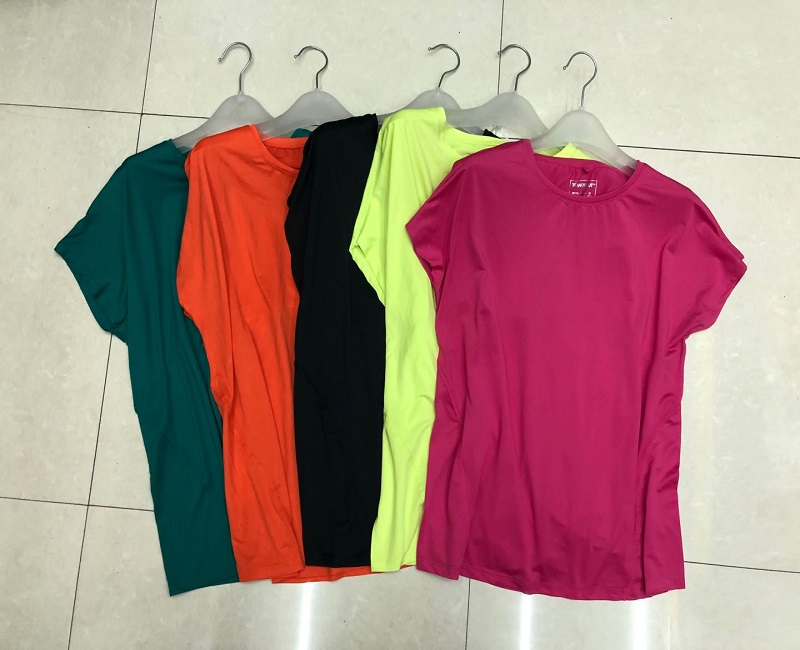 Womens Tops and Blouses short sleeve Ladies Top Female  Shirt Solid Color Summer  apparel stock