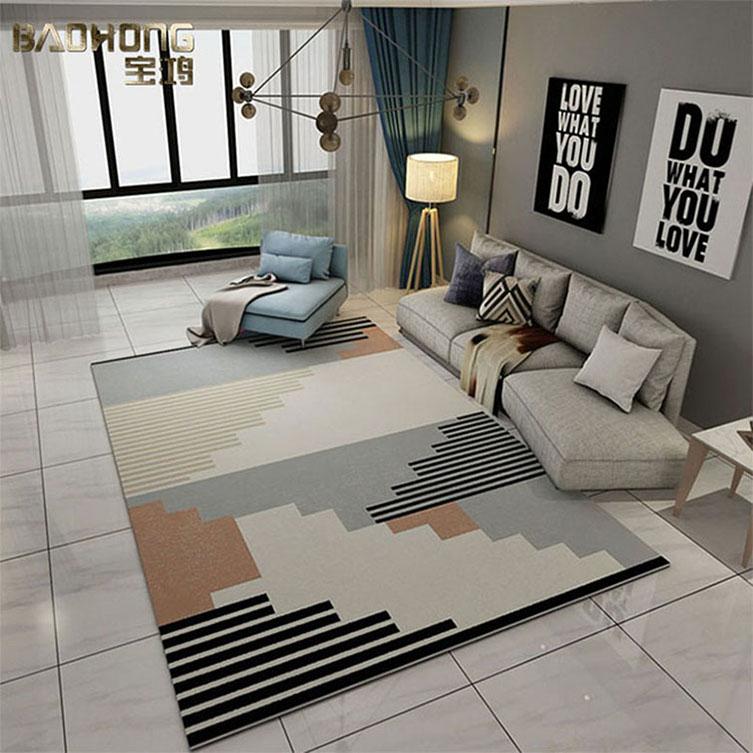 Venda quente sala usado lã feitas à mão tapete tapete de área