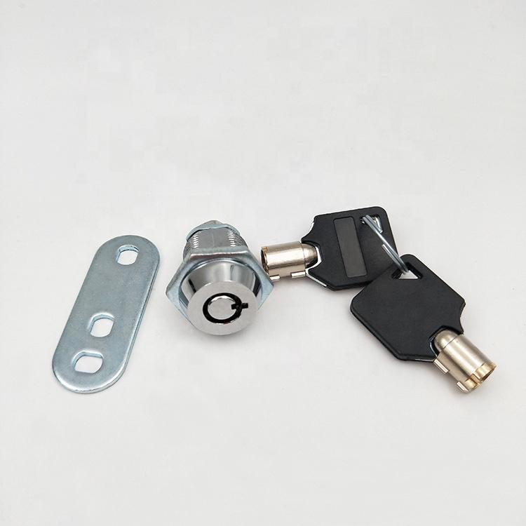 Haitan M19-25 security zinc alloy die-cast round cylinder lock keyed alikel mailbox cabinet tubular cam door lock