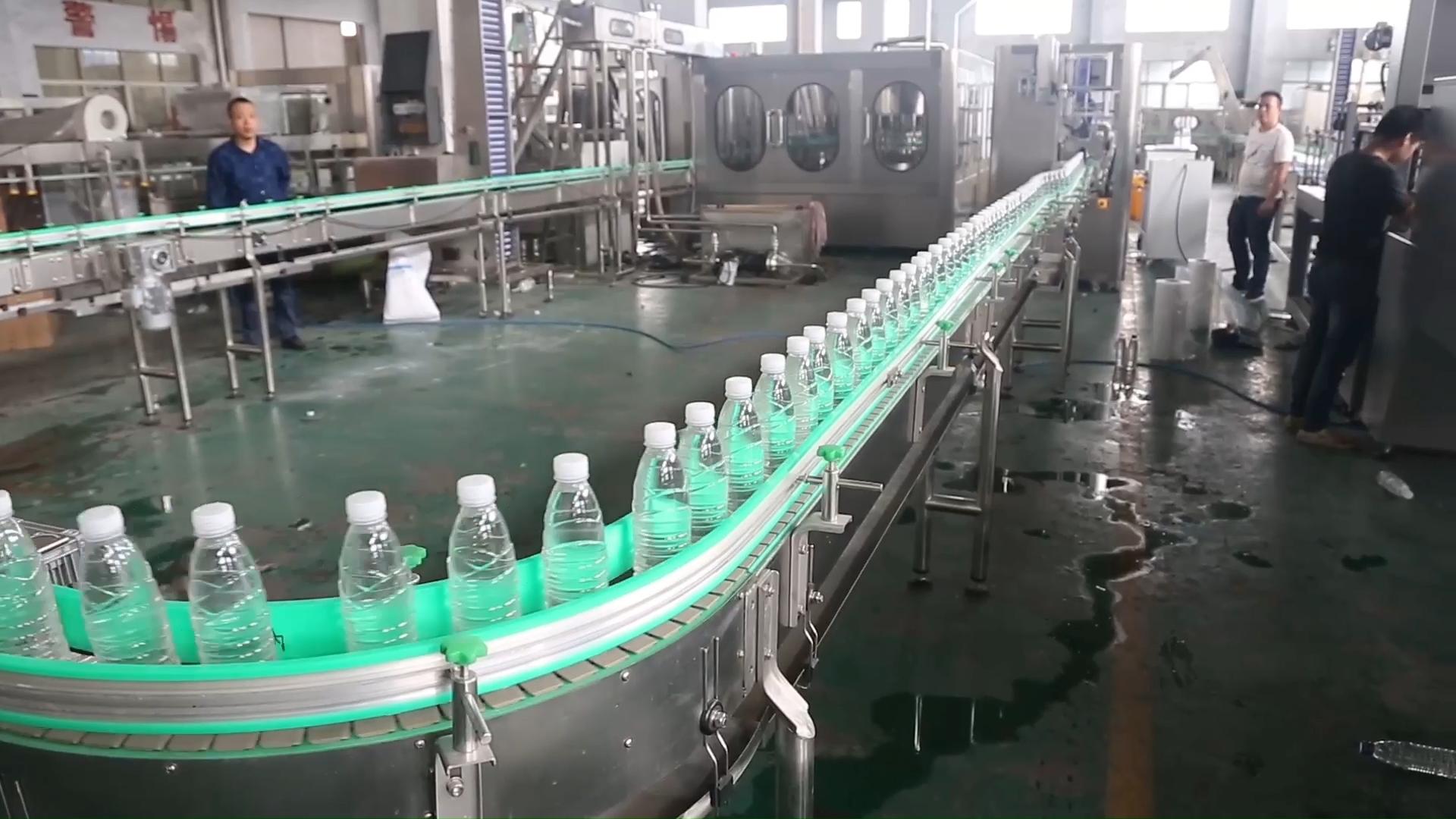 自動充填機ボトルウォーター/ミネラルウォーターのボトリングプラント/ミネラルウォーターの生産ライン