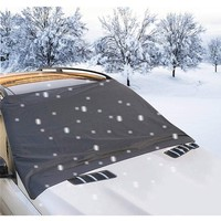2019 Customized Extra Large Universal Magnetic Car Windshield Snow and Ice Cover