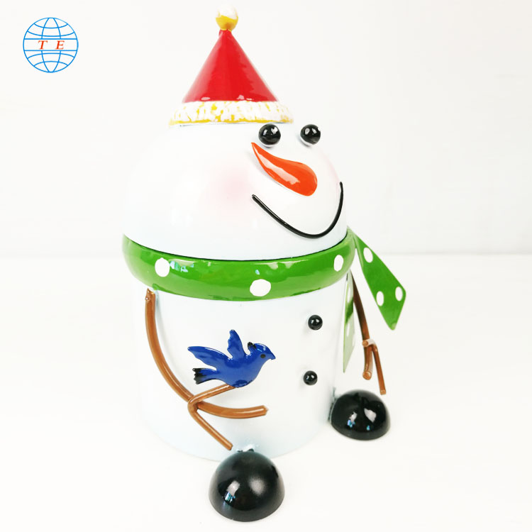Selling Christmas baubles online, creative snowman shapes, Christmas decorations.