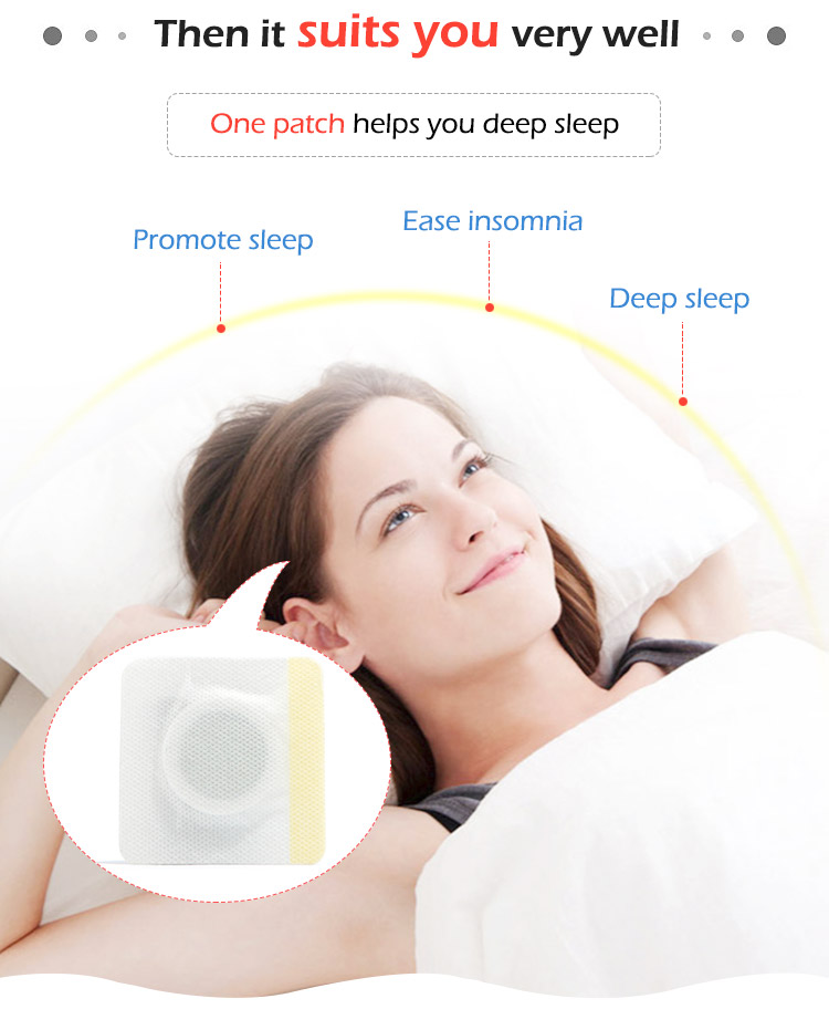 New Products Wholesale Healthcare Natural Sleeping Patch Improve Sleeping