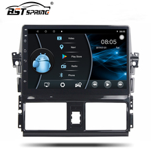 Bosstar android bluetooth 10.0 car multimedia sistema di lettore dvd per Toyota VIOS/ Yaris 2014-2016 car audio sistema stereo