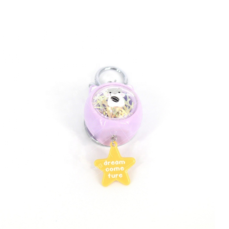 Wholesale Promotion Mini <strong>Cute</strong> Animal Pop <strong>Gift</strong> Keychain Personalised Kids Acrylic Key Chain For <strong>Gifts</strong>