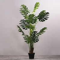 indoor decoration stomium tree artificial plant tree monstera plant