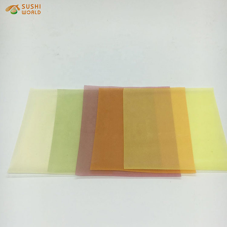 2021 Wholesale Chinese Delicious Food Frozen net spring roll wrapper