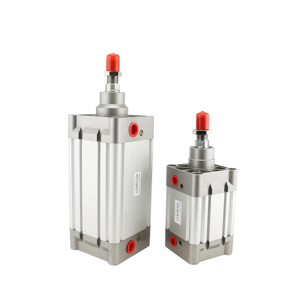 Shanghai Pneumatic Double Acting Air Cylinders,Standard Aluminium DNC Series ISO6431 Pneumatic Cylinder