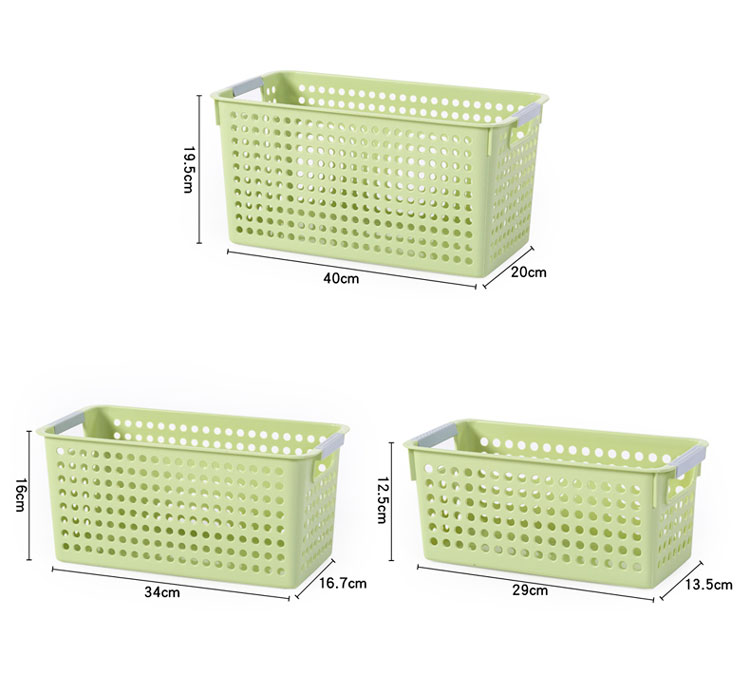 <strong>Bathroom</strong> Rectangle Plastic Food Fruit <strong>Storage</strong> <strong>Basket</strong>