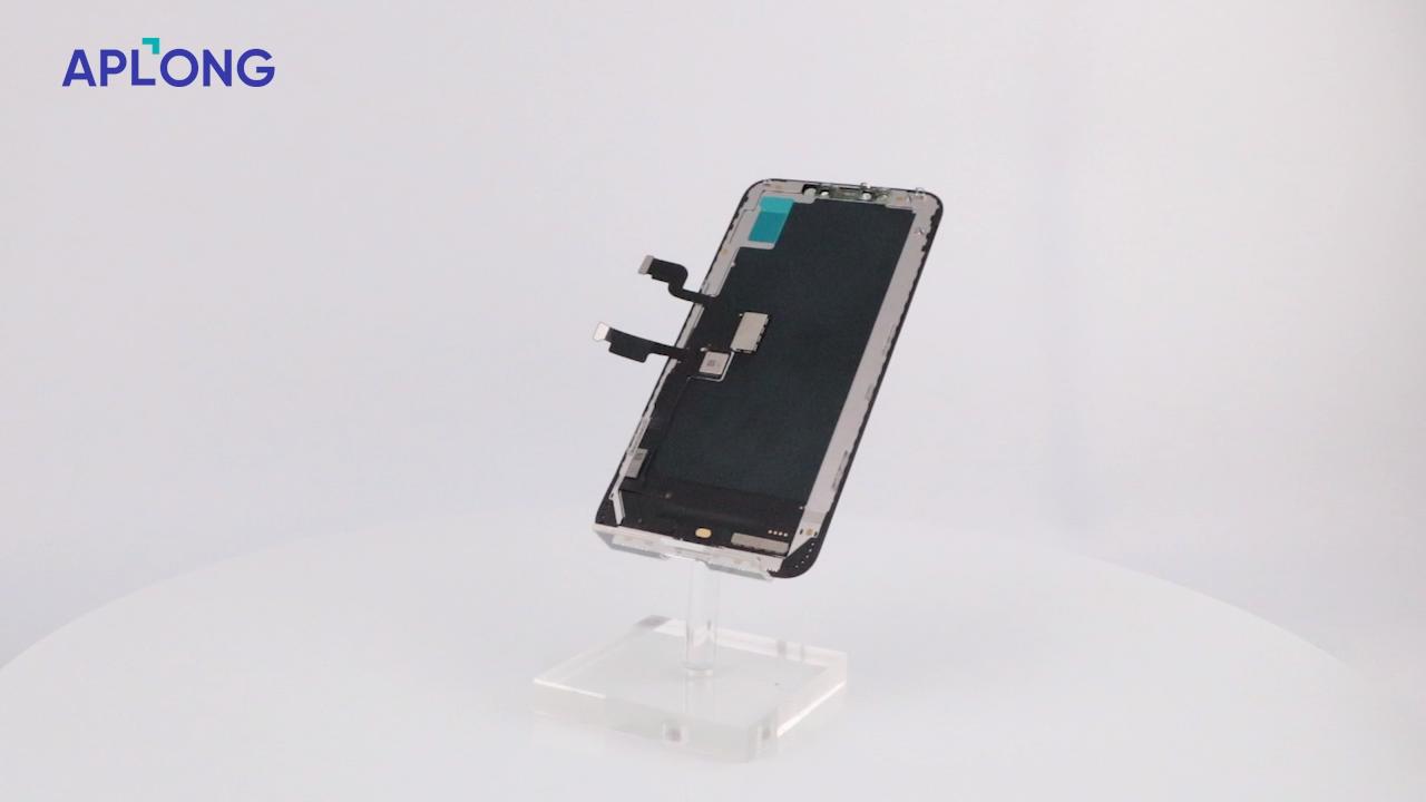 Venda A Granel em Peças de Reposição de Tela Oled Pantalla Anti Brilho Suave GX Originais LCDs do painel para o iphone X XR XS MAX