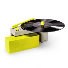 Presente do dia das bruxas <span class=keywords><strong>Atacado</strong></span> Original 2000mAh Portátil Turntable Speaker