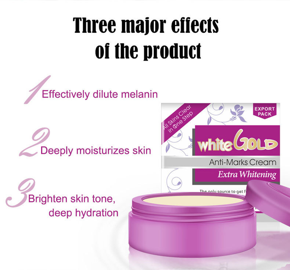OEM Whitening Pearl Face Cream Deep Hydration and Anti-wrinkle Aging Remove Freckles Skin Care White Gold Anti-Mark Moisturizing