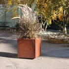 Metallic Series Corten Steel Planter Box & Corten flower pot