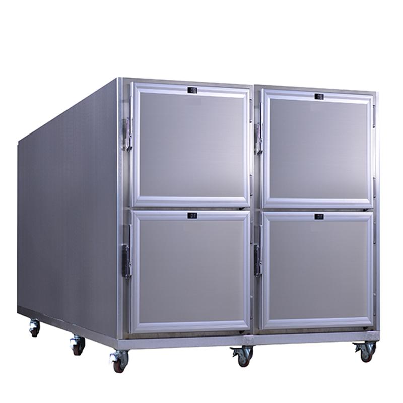 4 Bodies Corpse Morgue Freezer