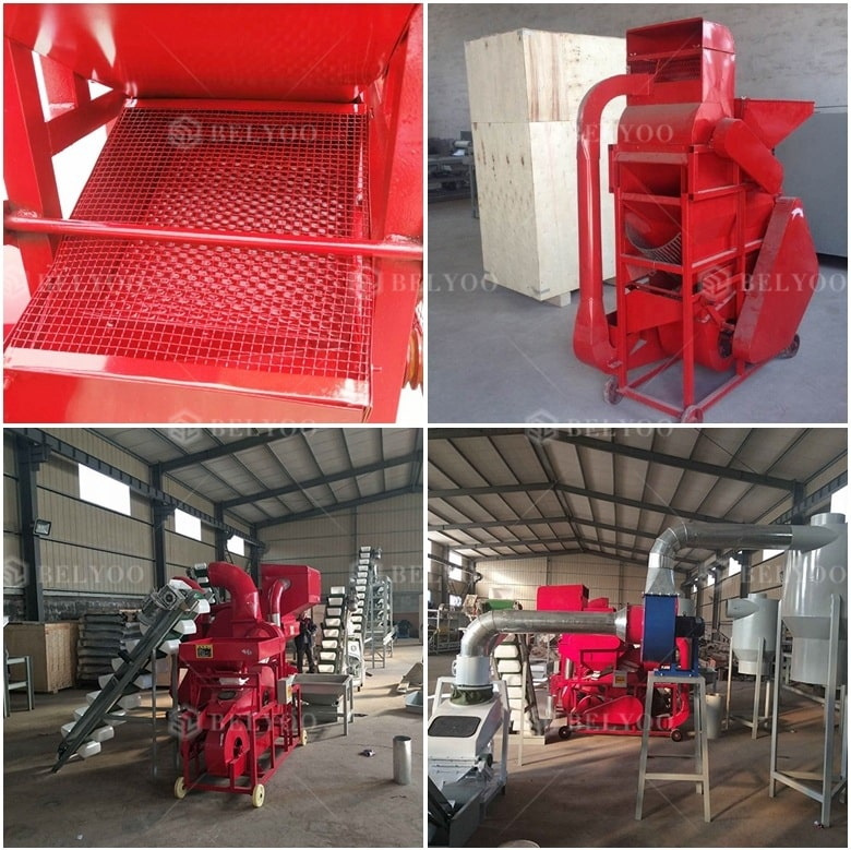 High Capacity Peanut Sheller Groundnut Shell Decorticator Machine