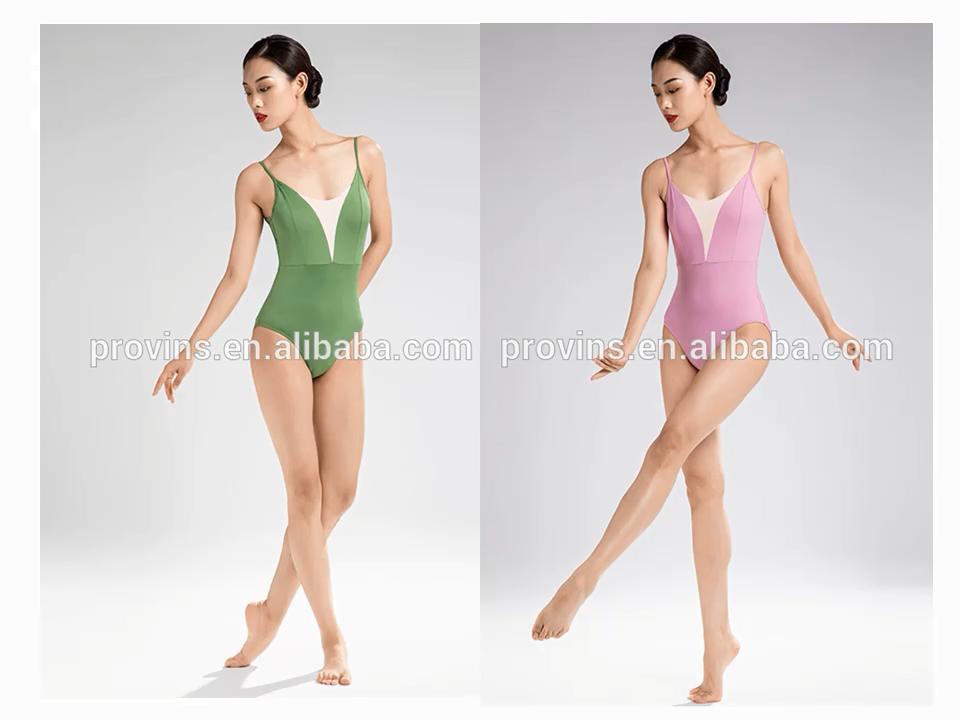Volwassen Hemdje Basic Ballet Dans Maillots