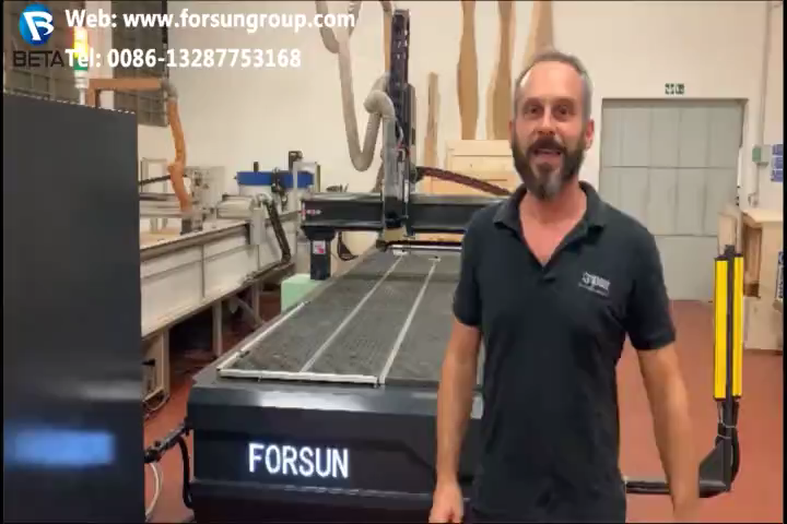 30% discount FORSUN CNC  1212 1325 1530 2030 cnc router 3 4 axis automatic 3d wood carving machine wood cutting machine