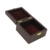 Matt Finish Brown Square Wooden Box Wholesale
