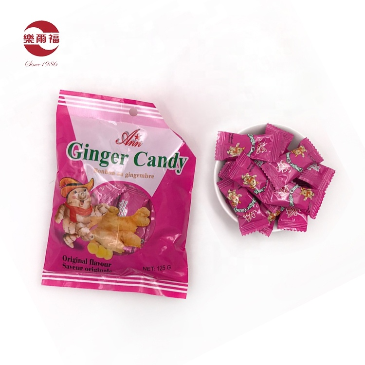 2020 Hot Selling herbal candy ginger candy chewy candy china