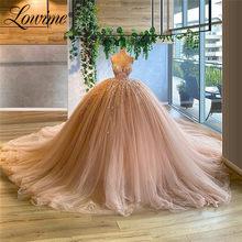 Пышное Бальное Платье, выпускные платья, длинные Дубай вечерние платья 2020, Женская вечерняя одежда, платья знаменитостей, арабские платья, ж...(Китай)