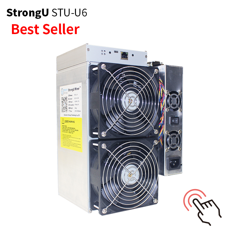 Hot Selling strong-u u6 X11 440Gh/s 2200W STU U6 asic mining machine
