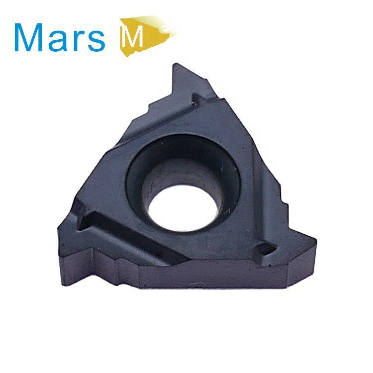 Macinato Inserto In Metallo Duro 16IL 16IR 11.5NPT di Tungsteno Inserti In Metallo Duro Utensili di Tornitura Filettatura Inserti In Metallo Duro Per Tornio