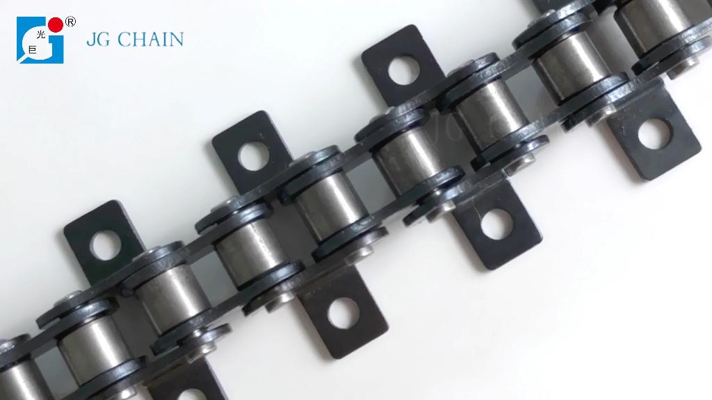 Прямые продажи с фабрики, цепь конвейера из легированной стали, крепящаяся роликовая цепь #40 k1