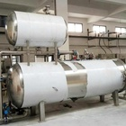 Automatic Water Spray Retort Steam Autoclave Sterilizer For Industrial Food Processor