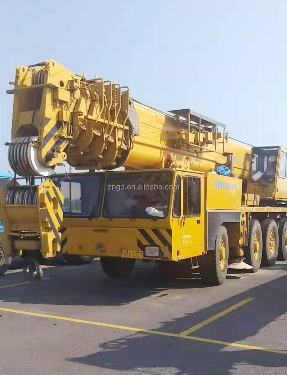 Used Germany made DEMAG AC395 120T Mobile crane Used truck crane DEMAG AC395 ac120 AC435 120t 150 tons Germany original for sale