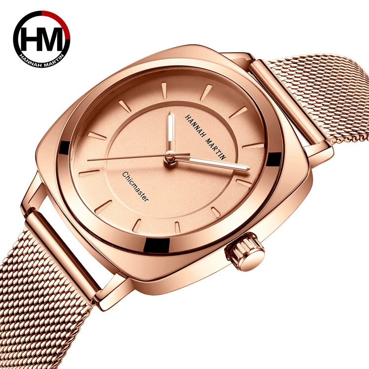 HANNAH MARTIN 106 Lady Minimalist <strong>Women</strong> <strong>Wrist</strong> <strong>Watch</strong> Latest Design Classic Stainless Steel <strong>Watches</strong> <strong>For</strong> Ladies