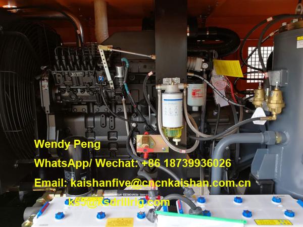 KAISHAN KSCY-580/17 Diesel Engine Air Compressor For Drilling Borehole