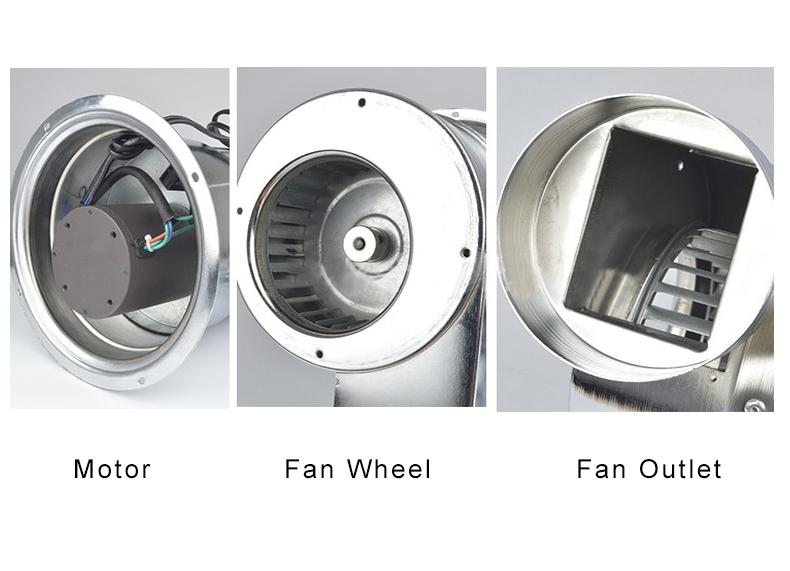 Bbq ventilator, bbq rook extractor