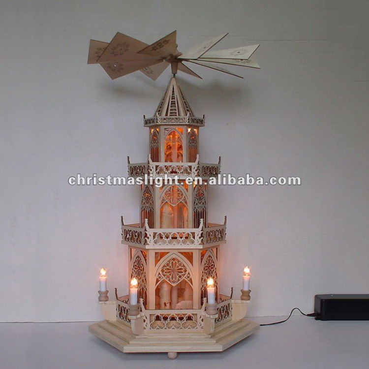 Best Selling Modern Design German Wooden Christmas Pyramid