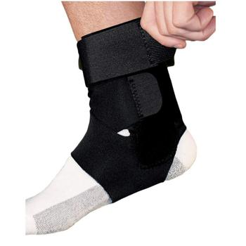 Wholesale Ankle Support for Men and Women Neoprene Breathable Adjustable Ankle Brace Sprain for Running Basketball
