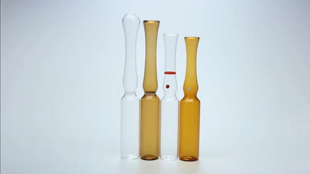 Ampola de vidro 2ml para injeção