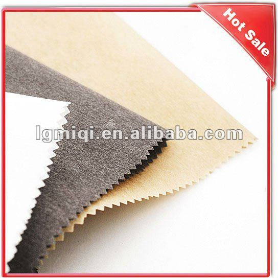 High quality on sale white cotton woven fusible interlining