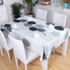 Malaysia Cloth Sample Free Malaysia Home Decorative Leaves Waterproof Custom Branded Table Cloth
