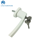 Window Crank Handles Aluminium Lockable Replacement Handle For Casement Windows With 35mm Spindle Length Lock Key