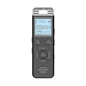 High Quality Voice Activated Digital Recorder 550mAh Rechargeable Sound Recorder for Lectures