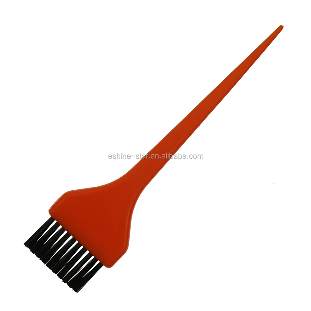 Private label plastic material nylon bristle hair dyeing brush manufacture