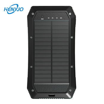 Universal Solar Phone Battery Charger Solar Energy 30000mah Portable Power Bank For Iphone
