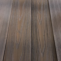 China Technology 3D embossing capped wpc decking Engineered Wood laminate Flooring Waterproof