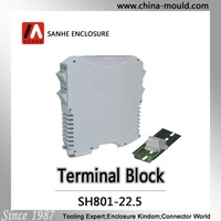 din rail mounting enclosure terminal block