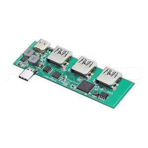 Pcb connector usb hub 3 port with type c