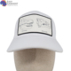 Design Your Own High quality metal logo 100% twill cotton white Casual baseball hat cap for Ladies