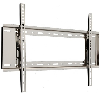 Stainless Steel universal Monitor/TV wall mount sliding bracket LED LCD Display Modern Cabinet living room metal
