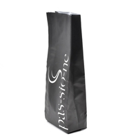 Matte black foil bag 50kg green coffee bean bags