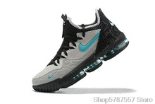 Nike LeBron 16 Мужская Баскетбольная обувь, оригинальные амортизирующие уличные кроссовки, Боевая воздушная подушка()