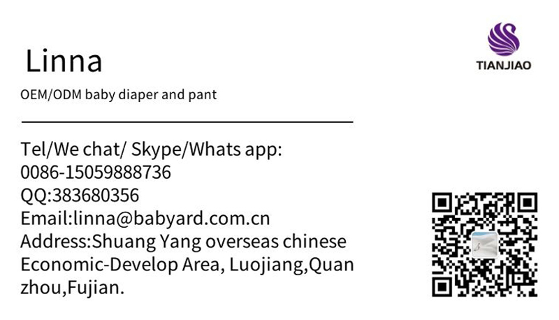 Disposable Quanzhou wholesale  baby adult cotton diaper pants in China Fujian