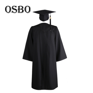 New Adult Matte us style bachelor graduation gown